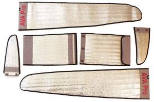 SUPER AVA Silver Wing Bag